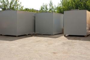 Производство металлоконструкций. Блок-контейнер сотовой связи.