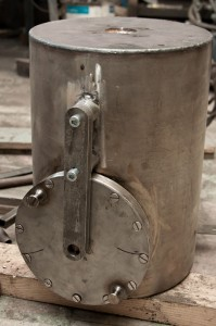 Контейнеры для радиоактивных веществ с вертикальной разгрузкой